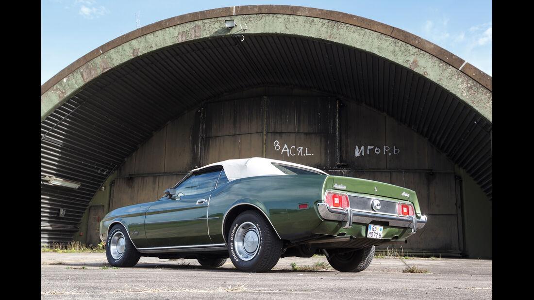 Ford Mustang V8 Cabrio, Heckansicht