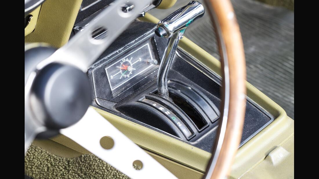 Ford Mustang V8 Cabrio, Lenkrad