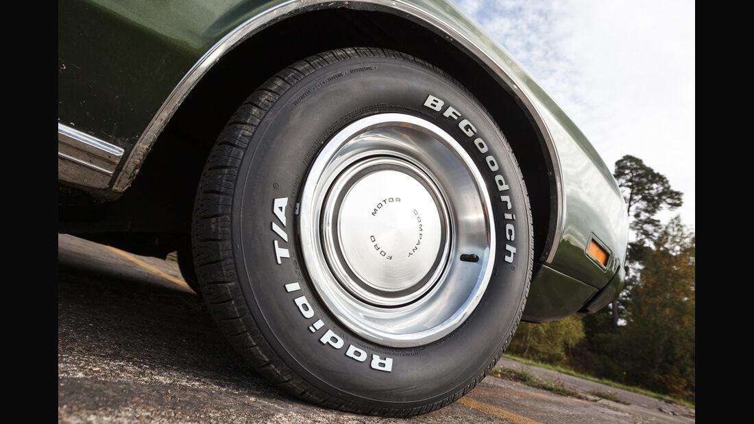 Ford Mustang V8 Cabrio, Rad, Felge