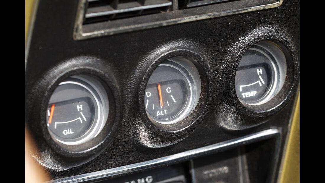 Ford Mustang V8 Cabrio, Rundinstrumente