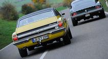Ford Mustang V8, Ford Taunus 2300 GXL, Heckansicht