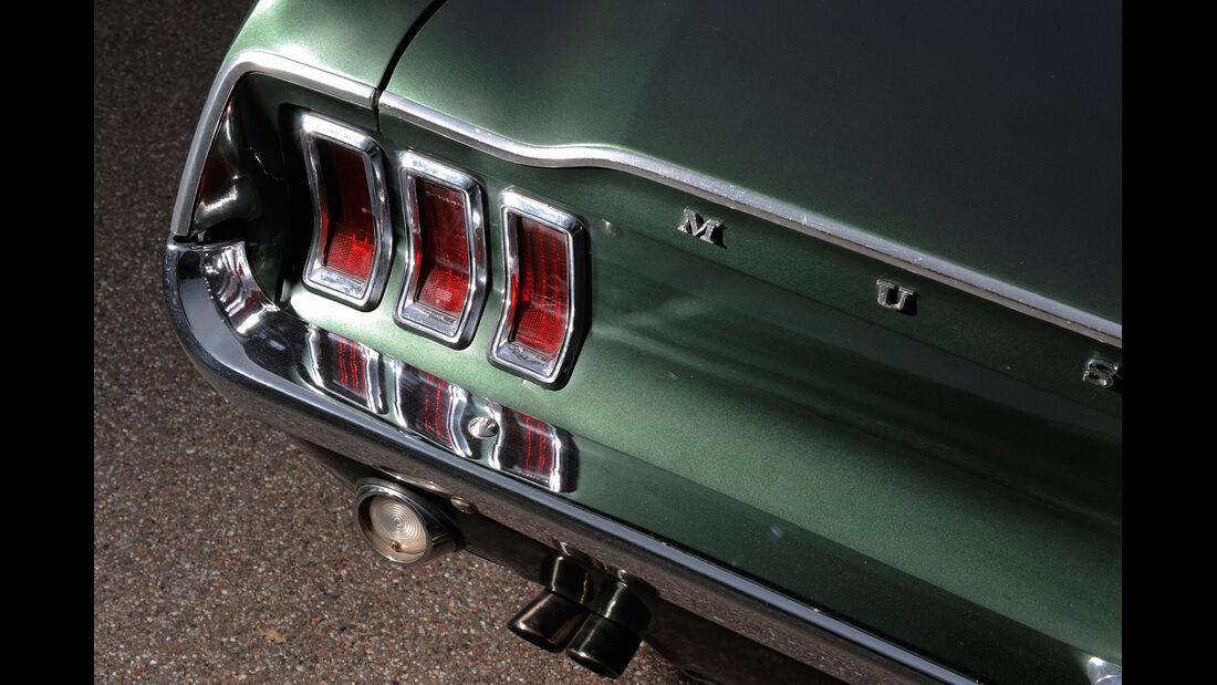 Ford Mustang V8, Heckleuchte