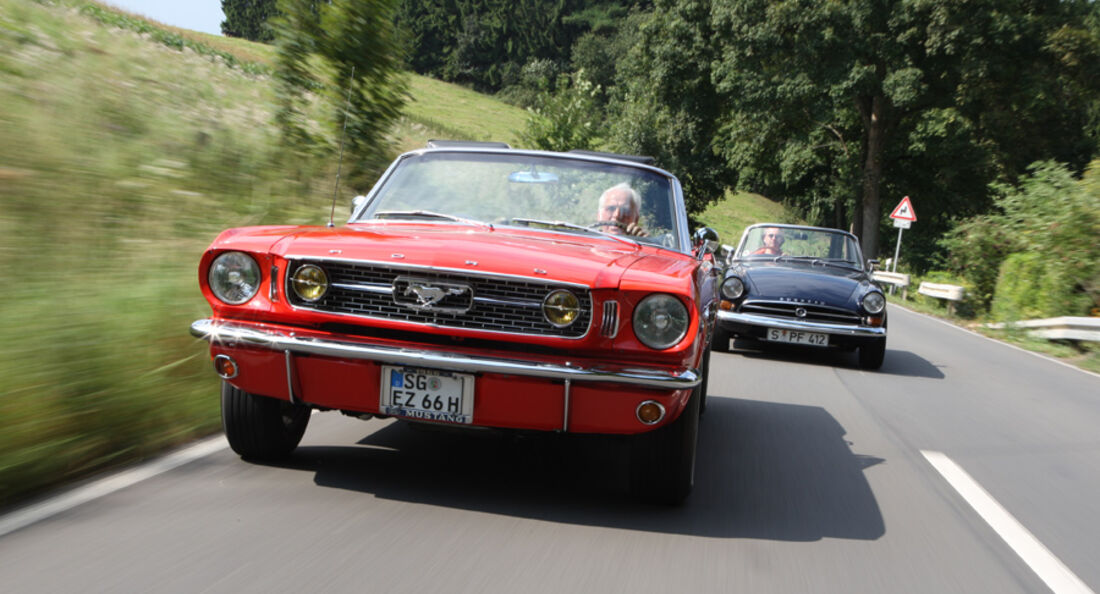 Ford Mustang V8, Sunbeam Alpine Tiger MK I A