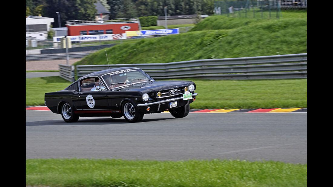 Ford Mustang bei der Sachsen Classic 2010