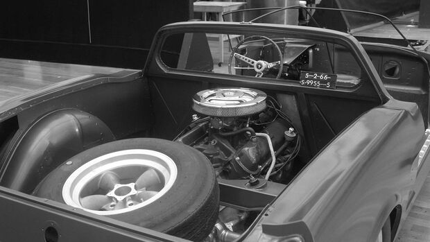 Ford Mustang mid-engine Concept Mittelmotor-Studie 1966