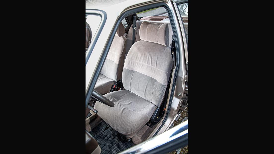 Ford Orion 1.6 GL, Fahrersitz