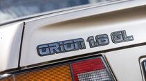 Ford Orion 1.6 GL, Typenbezeichnung