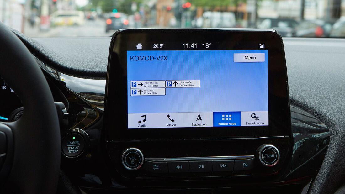 Ford Parkplatzfinder