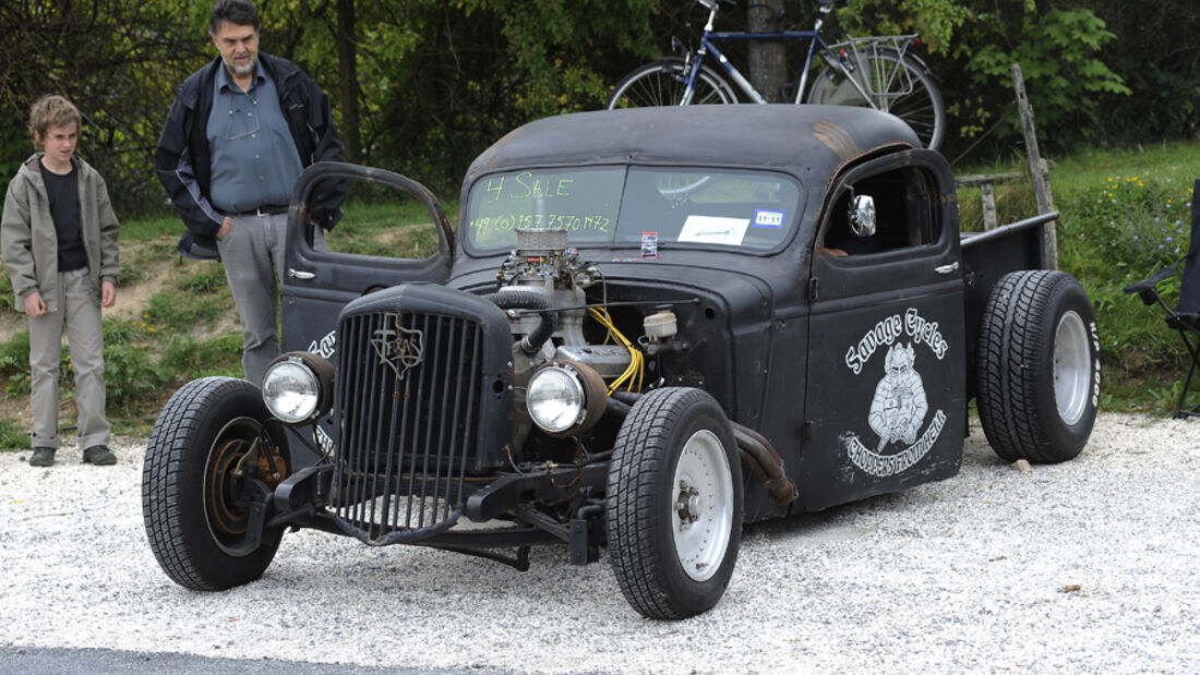 Ford Pick-up, Hot Rod, Frontansicht