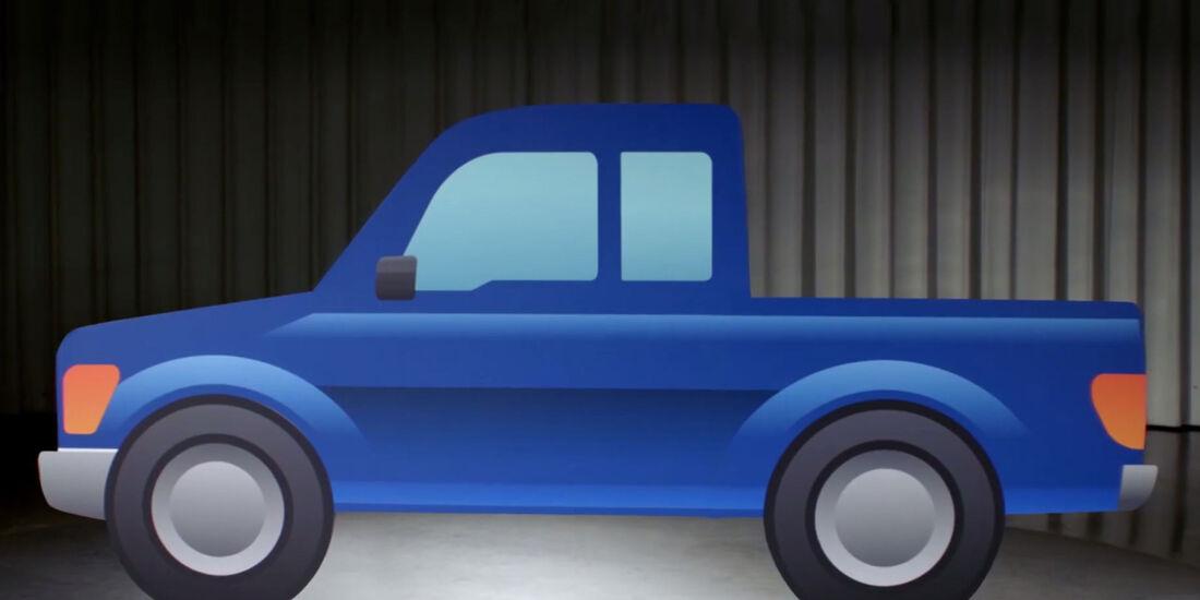 Ford Pickup-Emoji