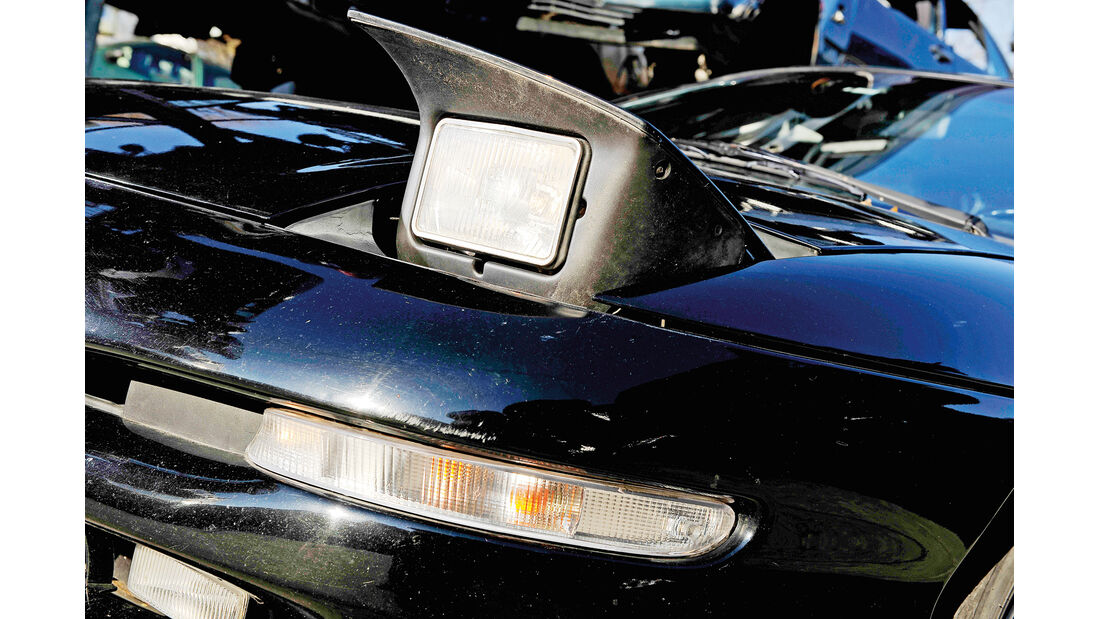 Ford Probe 24 V, Frontscheinwerfer, Klappscheinwerfer