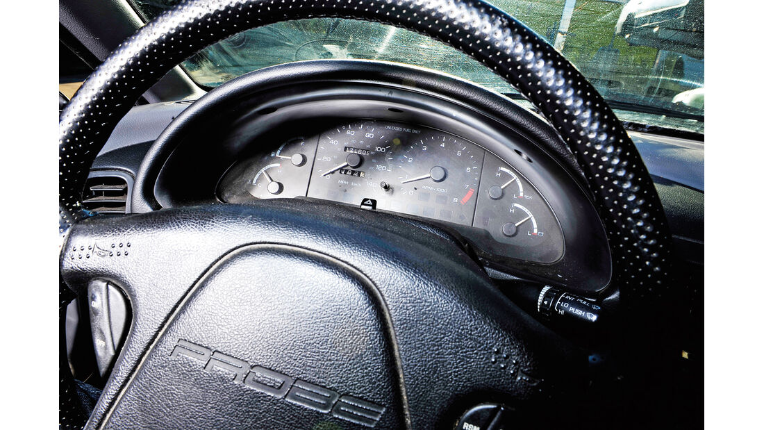 Ford Probe 24V, Rundinstrumente, Lenkrad