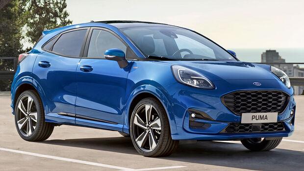 Ford Puma, Best Cars 2020, Kategorie I Kompakte SUV/Geländewagen