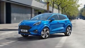 Ford Puma Hybrid, Best Cars 2020, ams2219