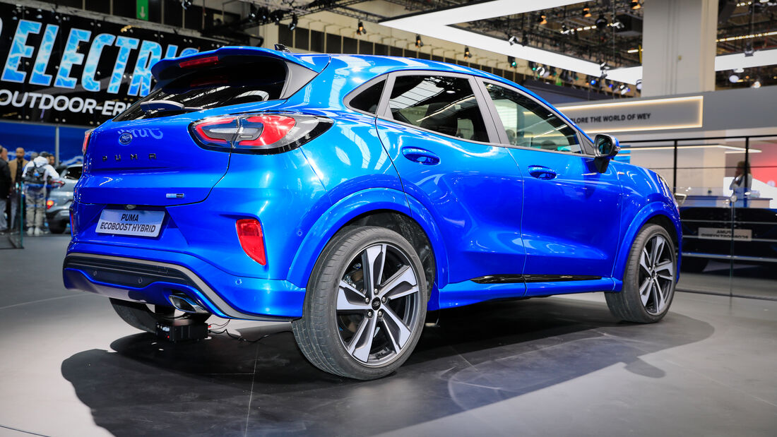 Ford Puma Hybrid, IAA 2019