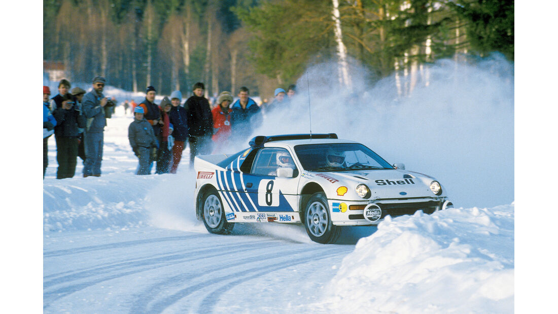 Ford RS 200, Malcolm Wilson