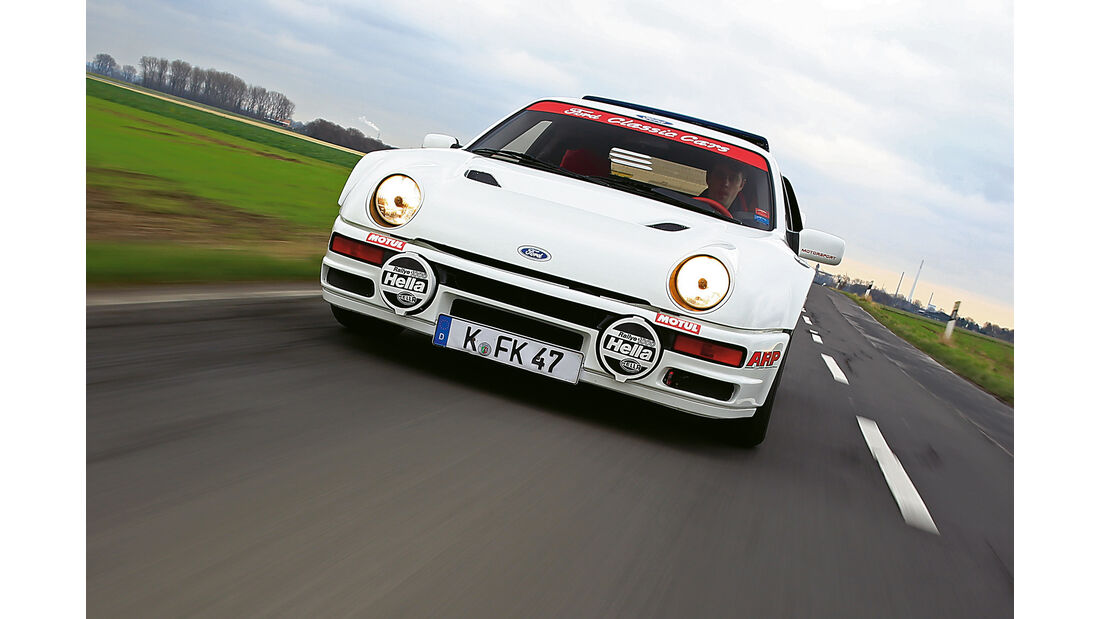 Ford RS200, Frontansicht