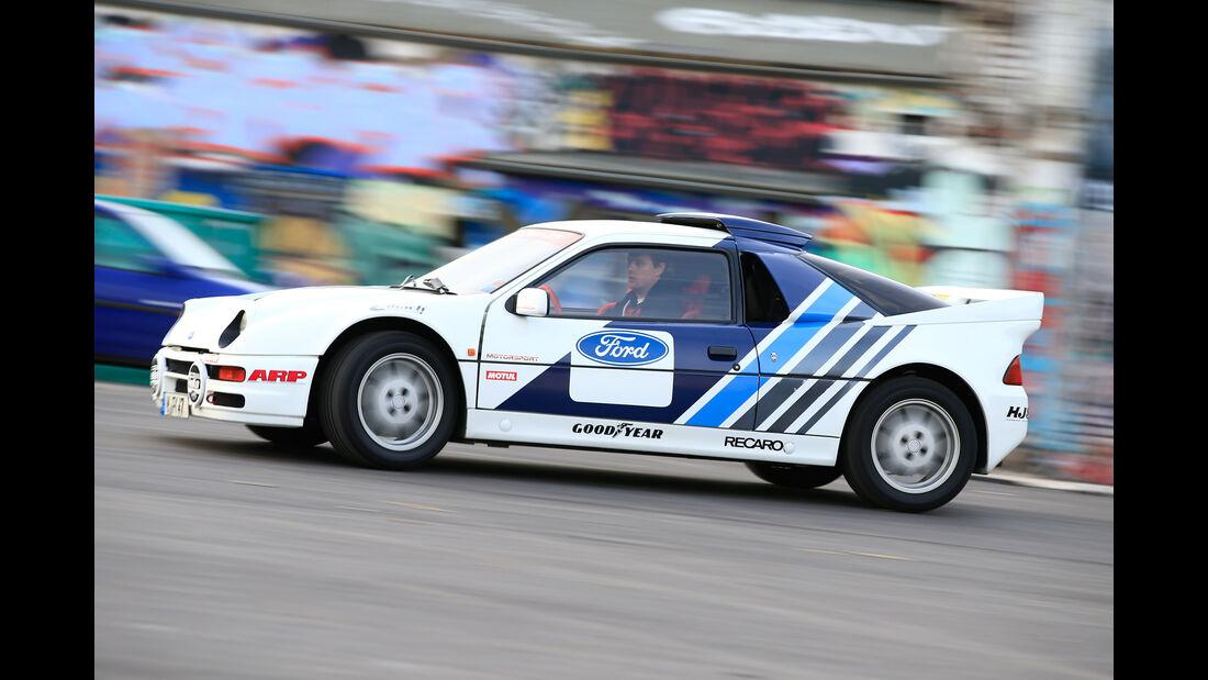 Ford RS200, Seitenansicht
