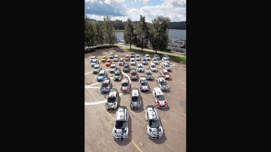 Ford, Rallyeflotte