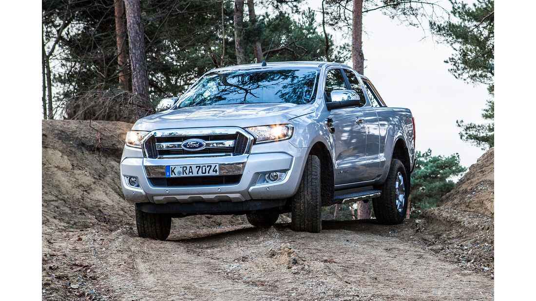Ford Ranger 2.2 Doppelkabine Pickup im Test