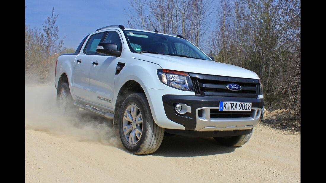 Ford Ranger 2012 Fahrbericht