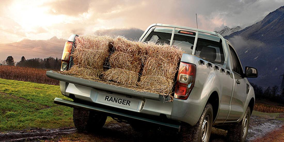 Ford Ranger 2012 Single Cab