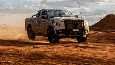 Ford Ranger 2022 Erlkoenig
