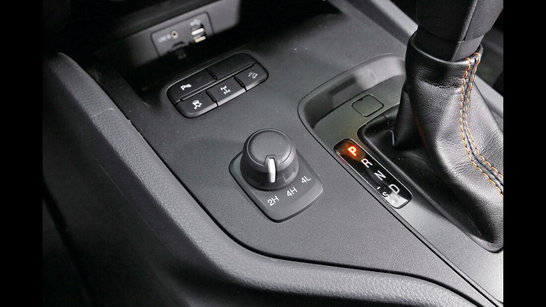 Ford Ranger 3.2 TDCi, Bedienelemente