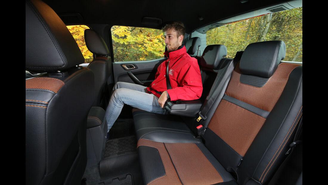 Ford Ranger 3.2 TDCi, Fondsitz