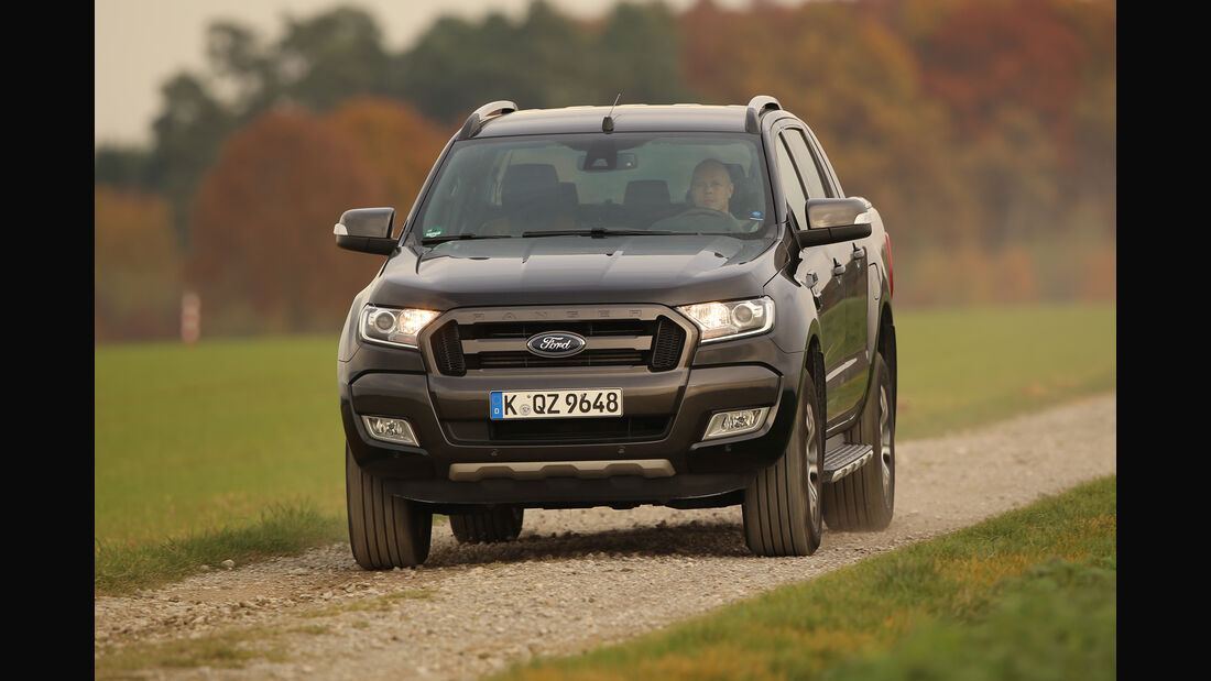 Ford Ranger 3.2 TDCi, Frontansicht