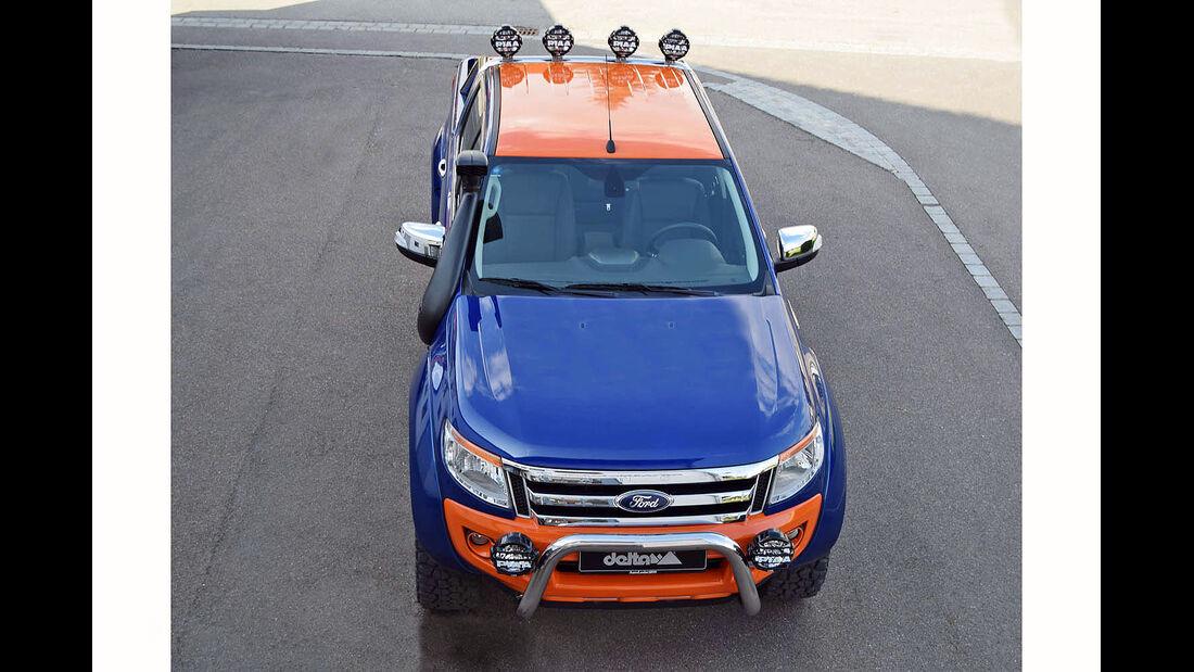 Ford Ranger Magic Orange delta4x4