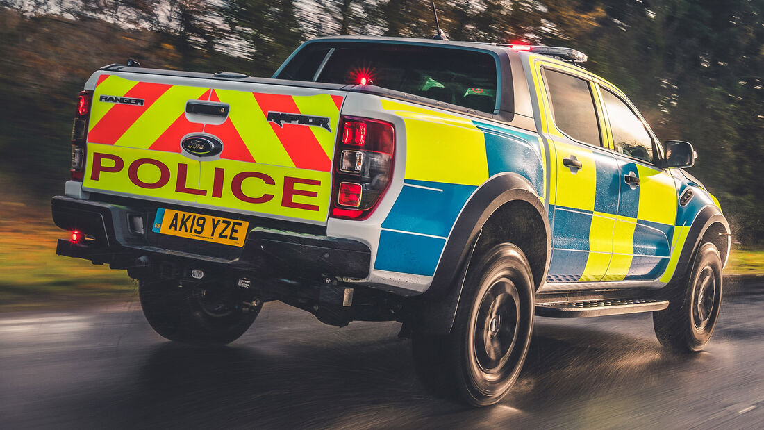 Ford Ranger Polizei Pickup