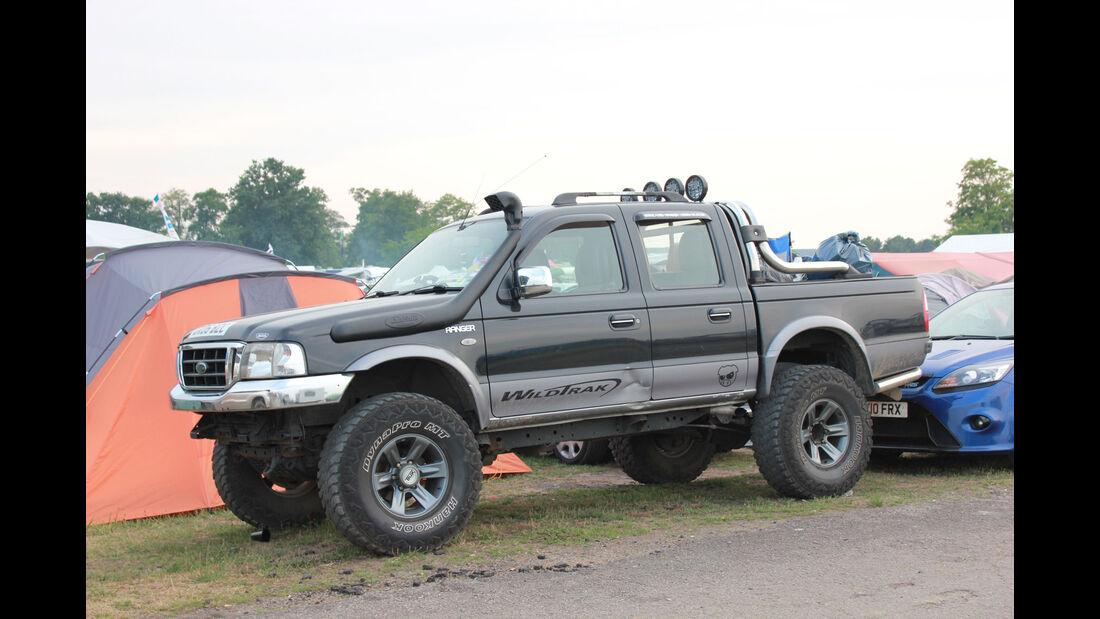 Ford Ranger Wildtrack- Fan-Autos - 24h-Rennen Le Mans 2015