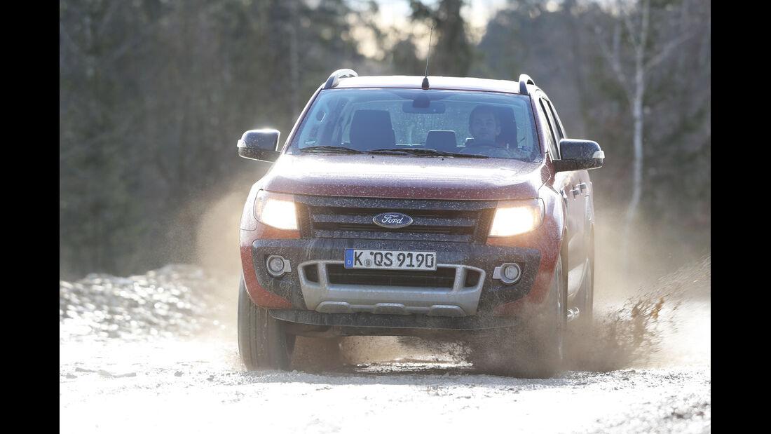 Ford Ranger Wildtrak, Frontansicht