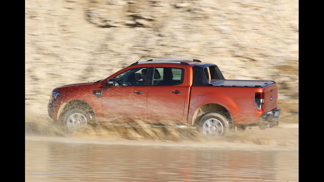 Ford Ranger Wildtrak, Seitenansicht
