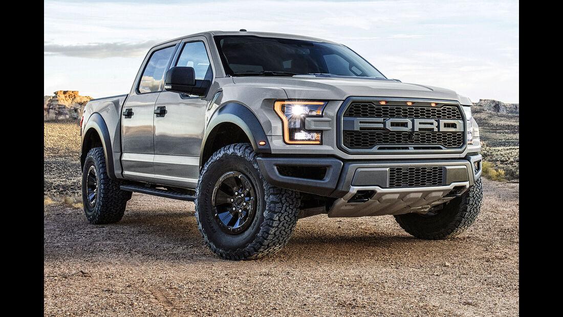Ford Raptor Detroit 2016