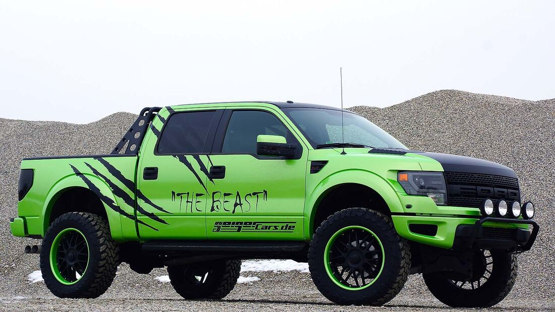 "Ford Raptor Pickup – Geiger Cars ""The Beast"""