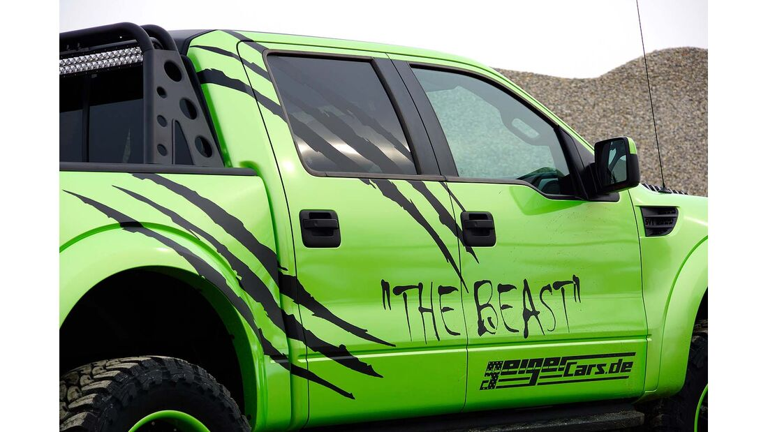 """Ford Raptor Pickup – Geiger Cars """"The Beast"""""""