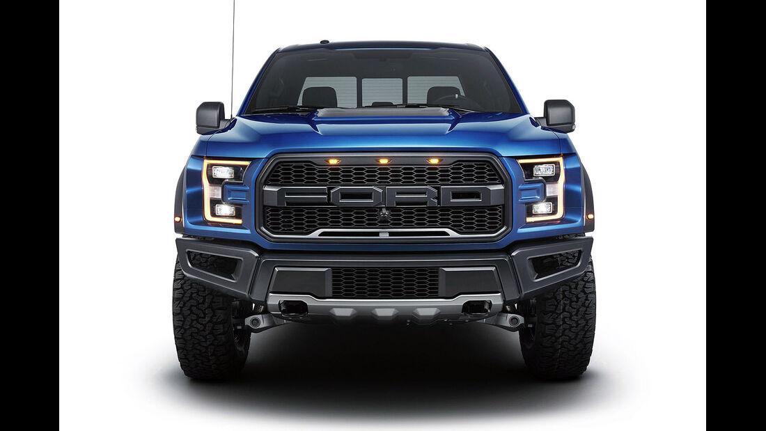 Ford Raptor auf der NAIAS in Detroit 2015