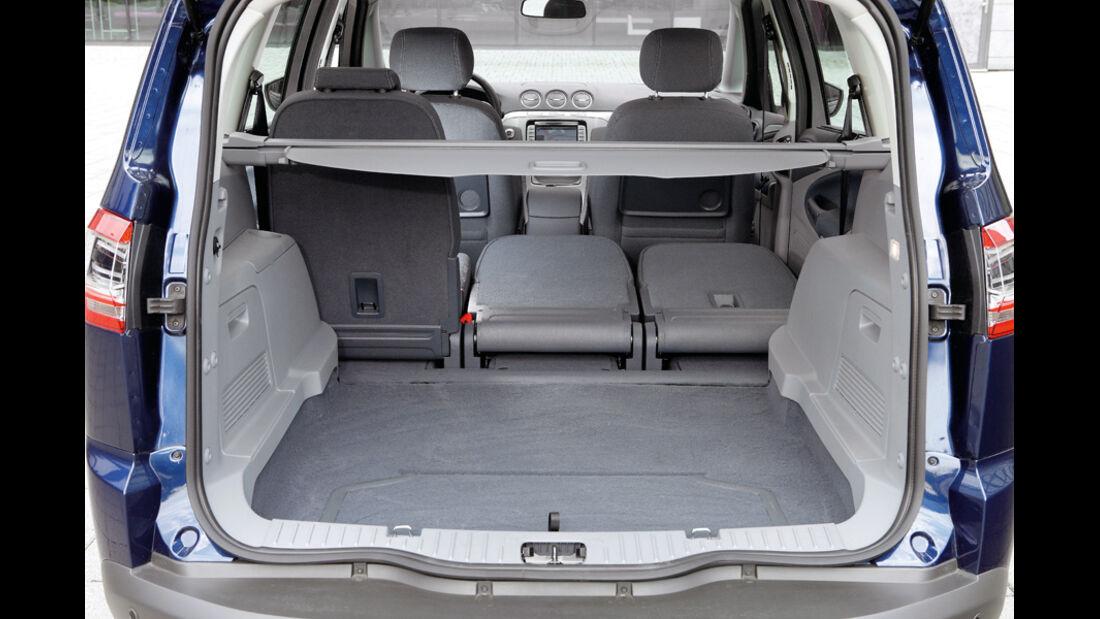 Ford S-MAX 1.6 EcoBoost Titanium, Kofferraum
