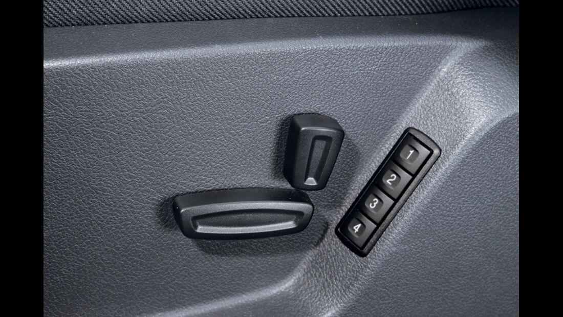 Ford S-MAX 1.6 EcoBoost Titanium, Türgriff, Schalter