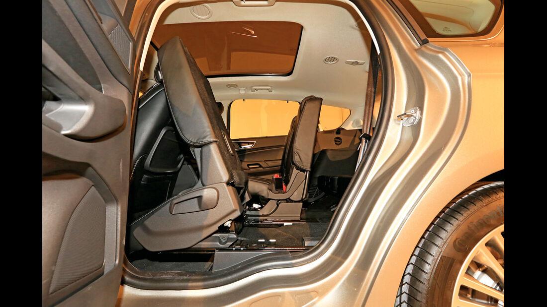 Ford S-MAX, Fondsitze, Umklappen