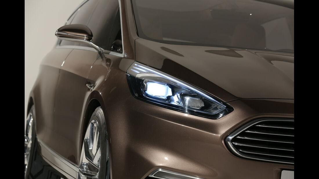 Ford S-MAX, Frontscheinwerfer