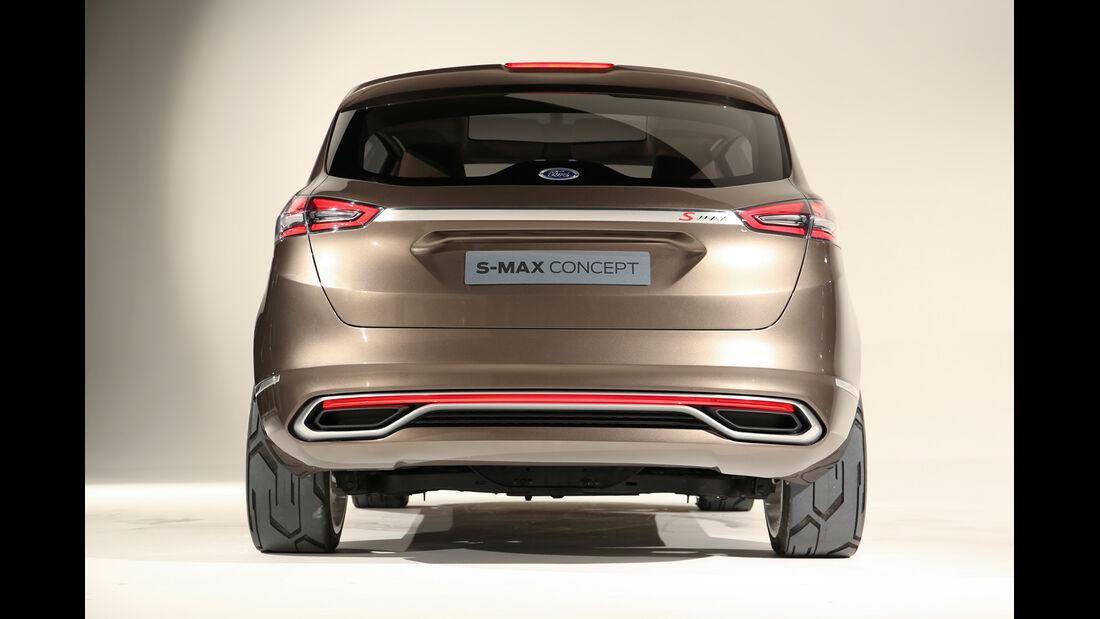 Ford S-MAX, Heckansicht