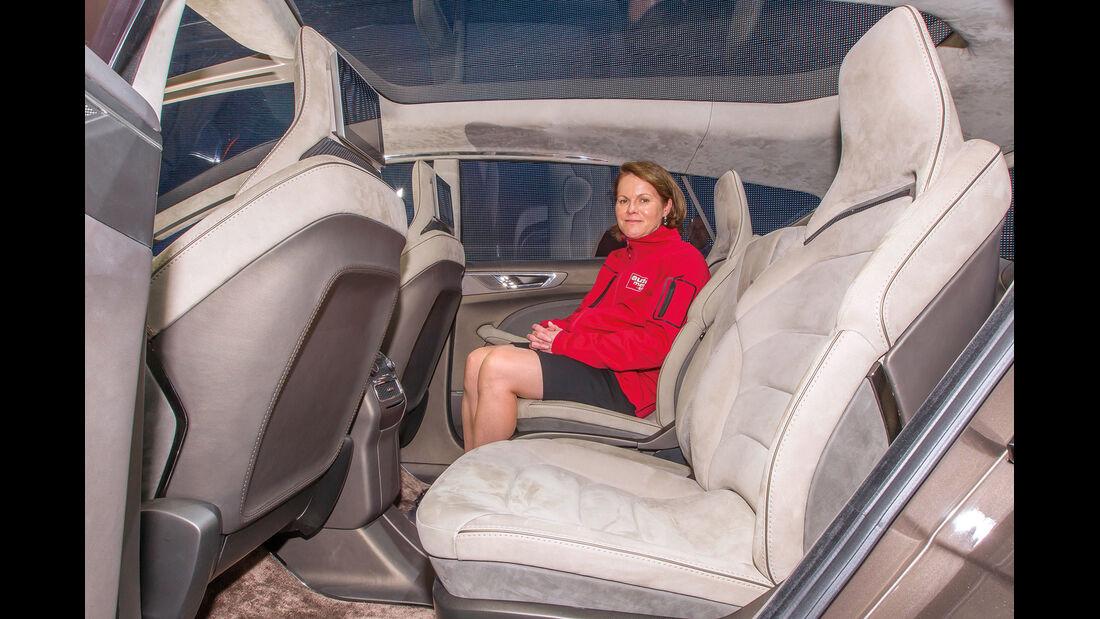 Ford S-MAX, Rücksitz, Beinfreiheit