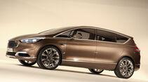 Ford S-MAX, Seitenansicht