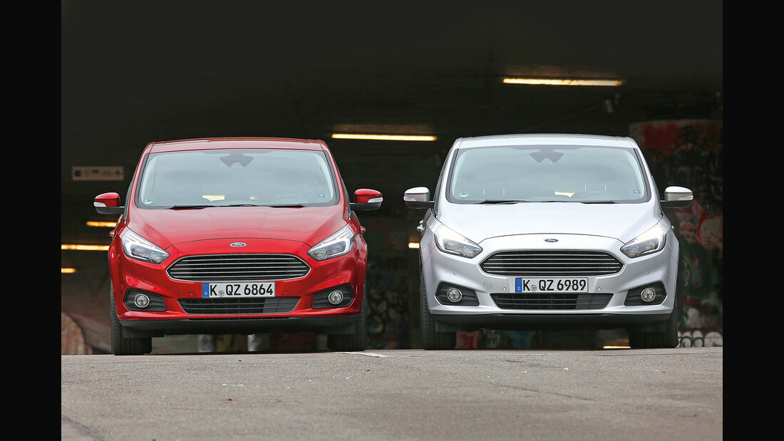 Ford S-Max 1.5 Ecoboost, Ford S-Max 2.0 TDCI