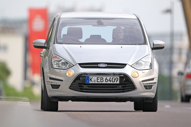 Ford S-Max 1.6 TDCI, Frontansicht