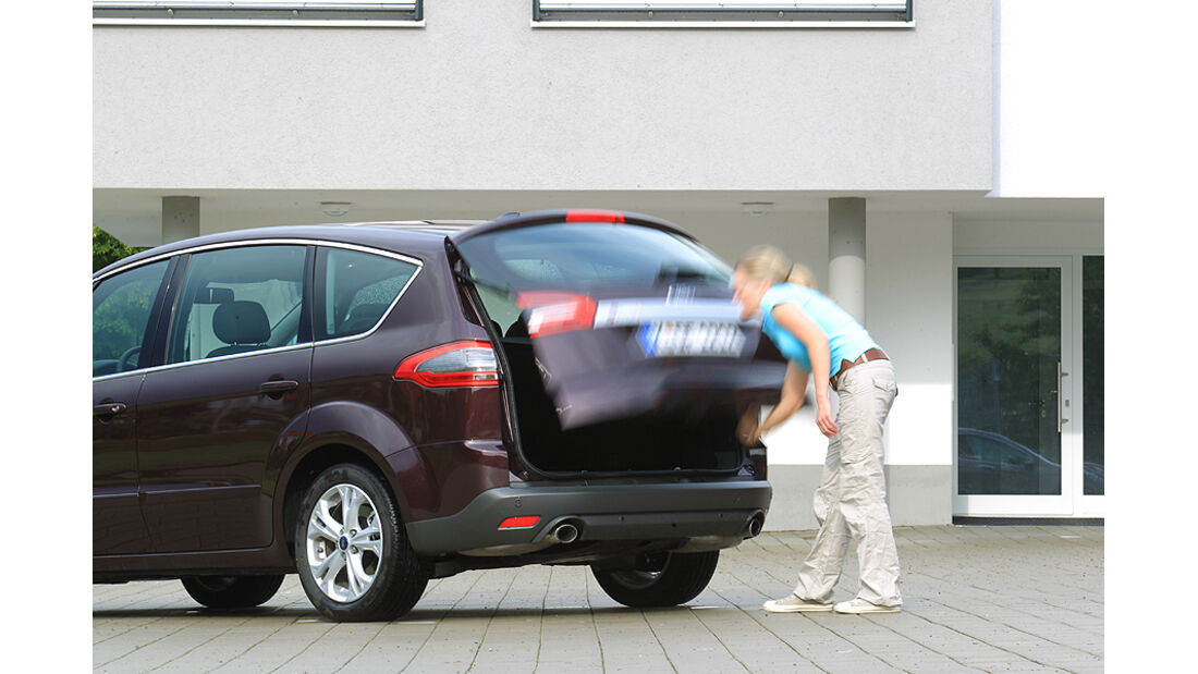 Ford S-Max 2.0 Eco-Boost, Heckklappe