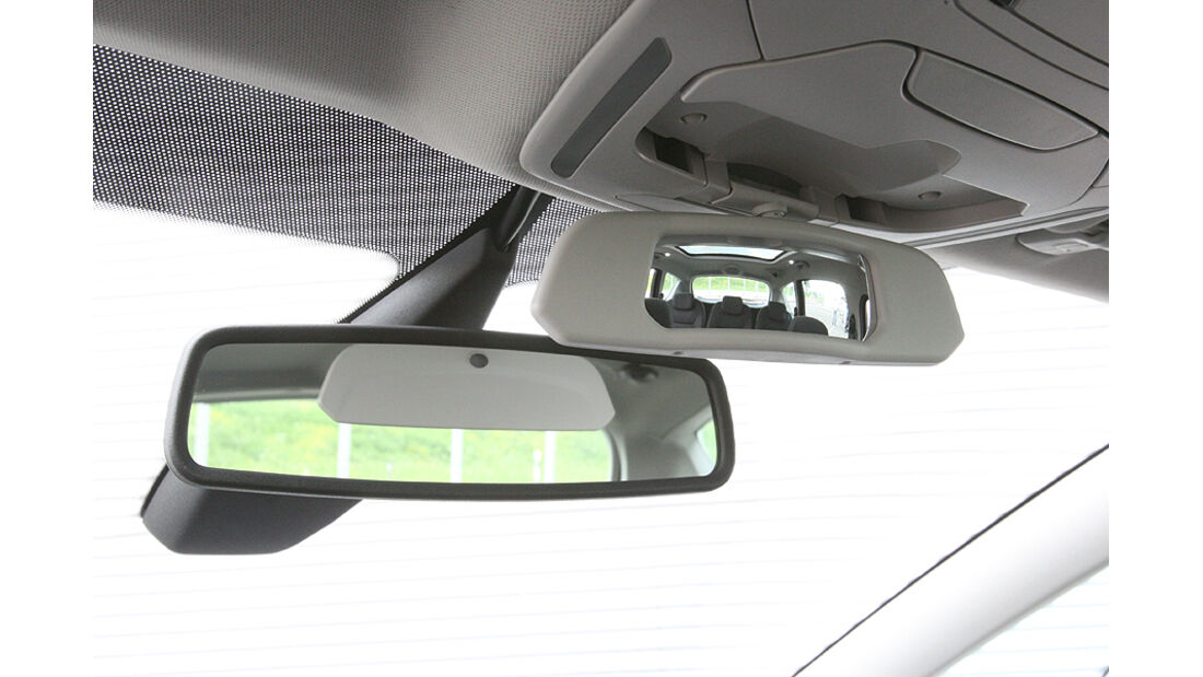 Ford S-Max 2.0 Eco-Boost, Innenspiegel